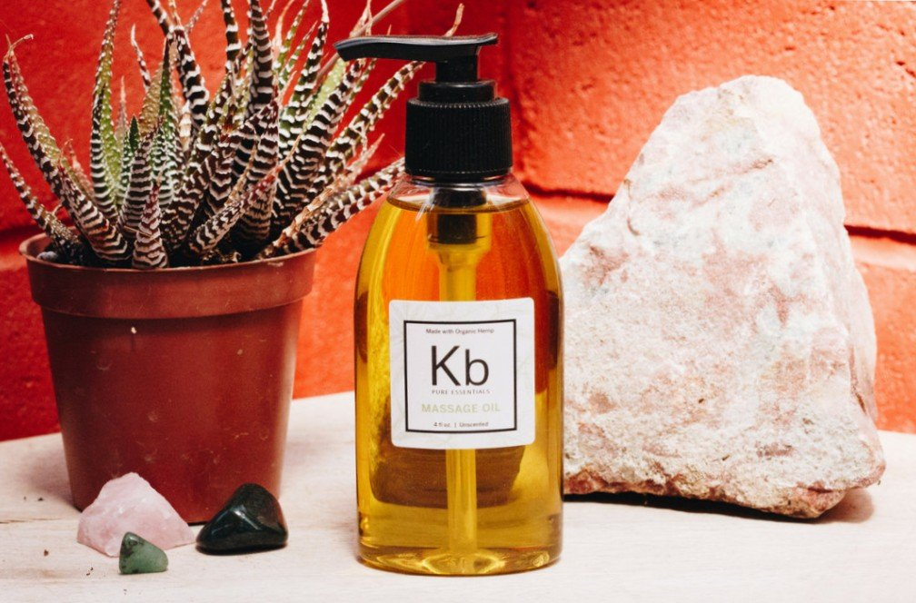 How to Enhance our Massage Oil with Hemp CBD