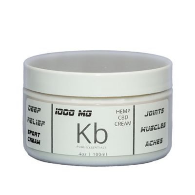 KB hemp CBD Cream
