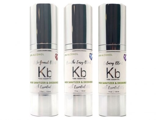 kb pure essential mask sanitizer